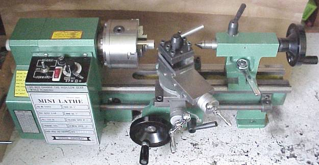 Varmint Al's Mini Lathe Page on